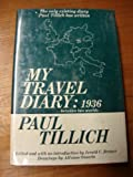 My Travel Diary, 1936: Between Two Worlds (0334010489) by Paul Tillich
