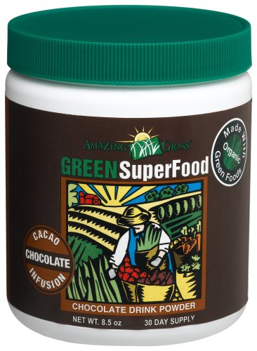 Amazing Grass Chocolate Drink Powder, Green Superfood