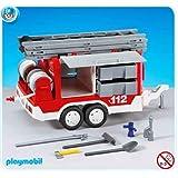 PLAYMOBIL 7485 - Matériel de pompiers et remorque