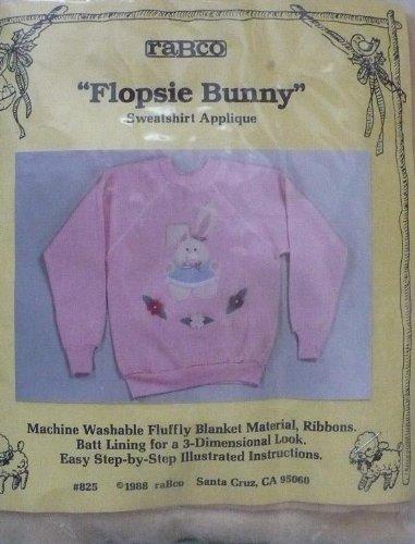Flopsie Bunnie - Sweatshirt Applique #825