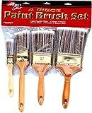 4 Piece Paint Brush Set