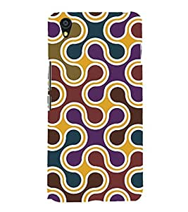 printtech Abstract Pattern Back Case Cover for One Plus X