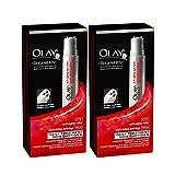 OLAY Regenerist Advanced Anti-Aging Eye Roller Daily Treatment 1 Each (Pack of 2), )6ml (0.2 Oz )
