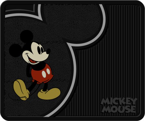 """Vintage Mickey Mouse Style Molded Utility Mat- 14"""""""