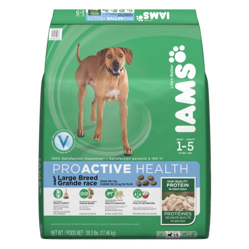 Iams Proactive Health Premium Dog Food For Large Breed Dogs, 38.5-Pound