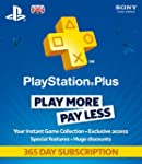 Sony PlayStation Plus - 365 Day Subsc...