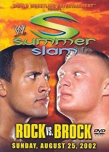 WWE SummerSlam 2002 - Rock vs. Brock