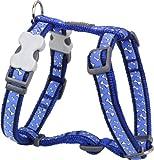 Red Dingo Desinger Dog Harness, Flying Bones (20mm x Neck: 36-59cm / Body 45-66cm) M