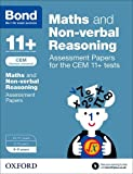 Alison Primrose Bond 11+: Maths and Non-verbal Reasoning: Assessment Papers for CEM: 8-9 years