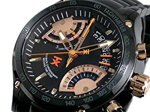 Mens Watch Timex T3C163 Flyback Chronograph Second Time Zone Stainless Steel Ca