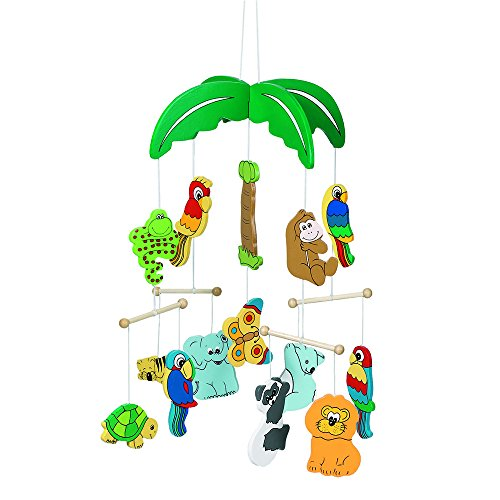 Ceiling Mobile - Jungle Zoo Animals - The Perfect Distraction for Bedtime