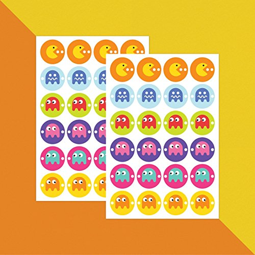 pacman-video-game-icons-stickers-x-48-teacher-stickers