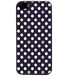 PrintDhaba Pattern D-5255 Back Case Cover for APPLE IPHONE 4 (Multi-Coloured)