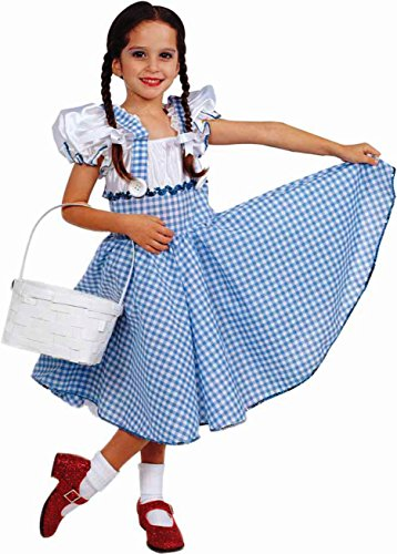 Wizard Of Oz Dorothy Halloween Costume
