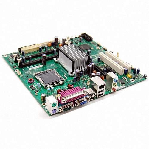 Intel D946GZ Essential Series D946 Desktop Board, uATX, DDR2 667, Intel Graphics, 800MHz FSB, LGA775, Retail Motherboard