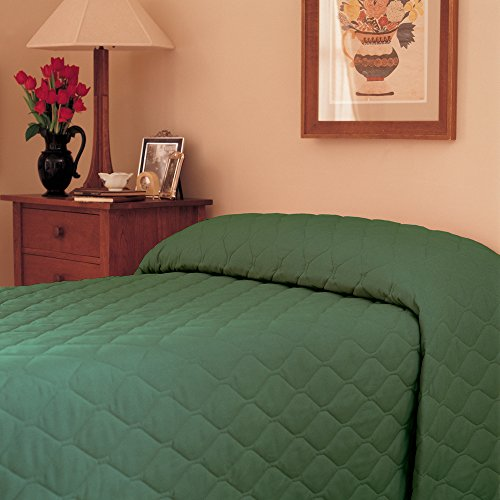 Martex 1C75849 71-Inch x 102-Inch Bedspread, Twin Fitted, Slate, 1-Pack