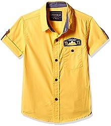 Cherokee Boys' Shirt (267982322_Yellow_7 - 8 years)
