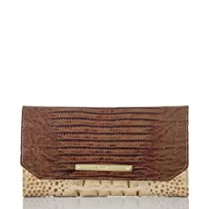 Soft Checkbook Wallet<br>Champagne Moscato