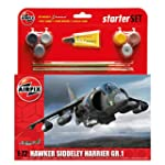 Airfix 1:72 Hawker Harrier GR1 Starte...