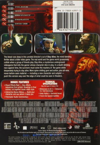 stay alive the directors cut widescreen edition