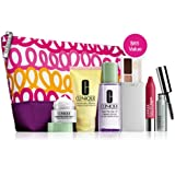 Clinique Official 2013 Winter Gift Set including New Repairwear Laser Focus Wrinkle Eye Cream, New Dramatically Differnt Moisturizing Lotion+, New All About Shadow and More