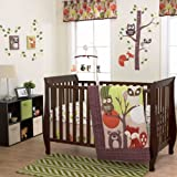 Foxy & Friends 3 Piece Baby Crib Bedding Set by Belle