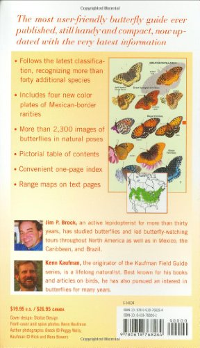 Kaufman Field Guide to Butterflies of North America