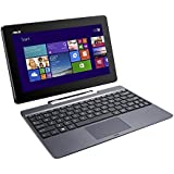 ASUS Transformer Book TF100TAF 10.1-Inch Tablet (Intel Atom Z3735F 1.33 GHz, 2 GB RAM, 500 GB HDD + 32GB eMMC, Webcam, Integrated Graphics, Windows 8.1) with Free Windows 10 Upgrade