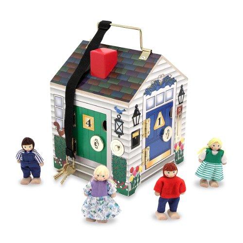 Melissa & Doug - 12505 - Casa di Legno con Campanelli