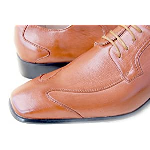Italian Inspired Designed Rich Textured BROWN LEATHER LINED UPPERS. Rich Oxford Brown Dress Shoe for Men GIORGIO BACCINI ITALIANO style# 3513 at AMERICAN SHOE FACTORY