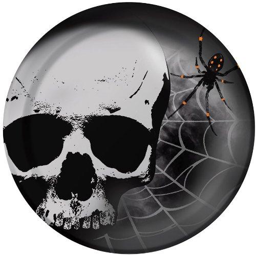 Skull Terror Dessert Plates