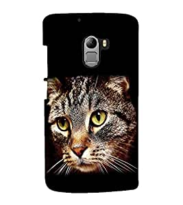 printtech Cat Eyes Back Case Cover for Lenovo Vibe K4 Note