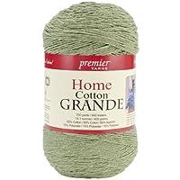 Premier Yarns Solid Home Cotton Grande Yarn, Sage