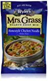 Wyler's Mrs. Grass, Homestyle Chicken Noodles Soup Mix-5.93 oz