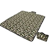 BreaDeep Portable Waterproof Outdoor Beach Camping Picnic Mat Pad Blanket with Carrying Case -(71