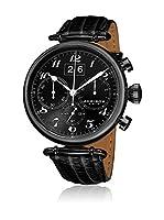 Akribos XXIV Reloj con movimiento cuarzo japonés Man AK628BLK 45.0 mm