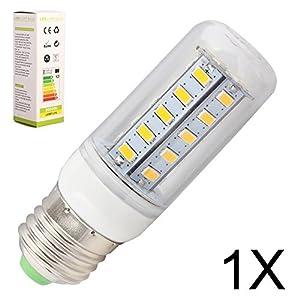 1X ELINKUME E27 7W Warm White 36*5730 SMD Corn Spot Lights Lamp For Office Home Showroom,AC 200-240V by ELINKUME