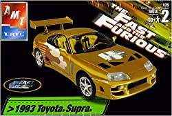 The Fast and the Furious - Model Kits 1993 Toyota Supra 1;25 Scale