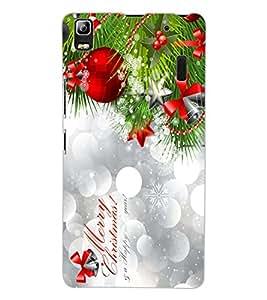 ColourCraft Christmas Design Back Case Cover for LENOVO A7000
