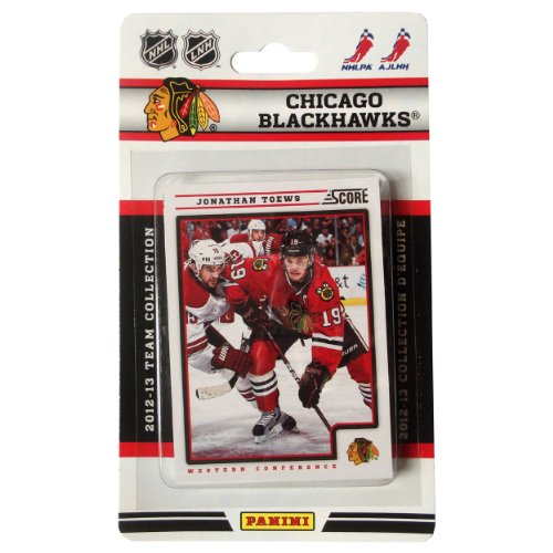 NHL Chicago Blackhawks 2012/13 Score Team Set