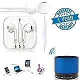 #5: Captcha In-Ear Universal 3.5mm Earphones With Mic & S10 Mini Stereo Bluetooth Speaker