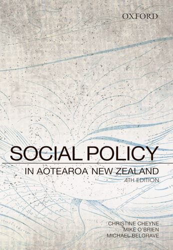 Cover for Social Policy in Aotearoa New Zealand: A Critical Introduction