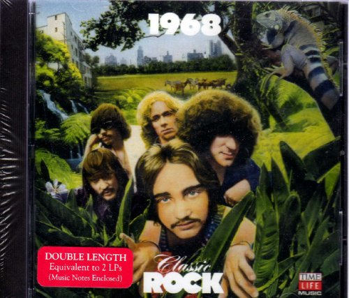Time Life Music Classic Rock 1968 Cd Covers