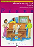 img - for Musical Concepts Book (Alfred's Basic Piano Library, Level 4) book / textbook / text book