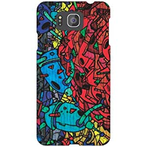 Samsung Galaxy Alpha G 850 mesmerizing Phone Cover - Matte Finish Phone Cover