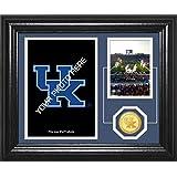 """NCAA Kentucky Wildcats Football Fan Memories Coin Desktop Photo Mint, 22"""" X 15"""" X 4"""", Bronze"""