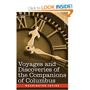 Voyages of the Companions of Columbus. Wahington. Irving