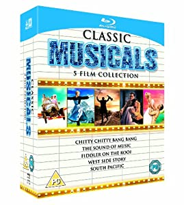 Classic Musicals - 5 Film Collection [Blu-ray] [1958] [Region Free]