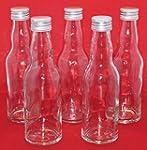 10 leere Glasflaschen mit Schraubvers...
