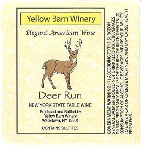 "Nv Yellow Barn Winery ""Deer Run"" Semi-Sweet Rosé 750 Ml"